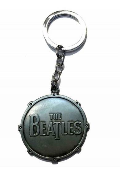 Chaveiro Beatles Prata,cod. 00089