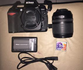 Camera Nikon Semi Proficional + Lemte 18-105
