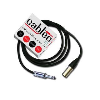 Cable Xlr Canon Macho A Plug Ts Mono Neutrik Rean 1m Cabtec