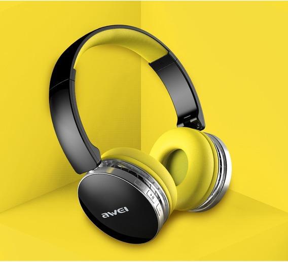 Fone Headphone Bluetooth Confort Awei A500 Bl