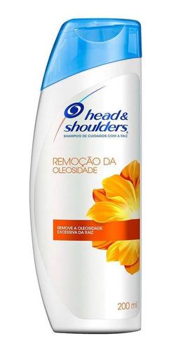 Shampoo Head & Shoulders Remoção Da Oleosidade 200ml