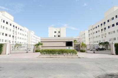 Apartamento 2 Quartos Na Messejana, Lazer Completo, Garagem