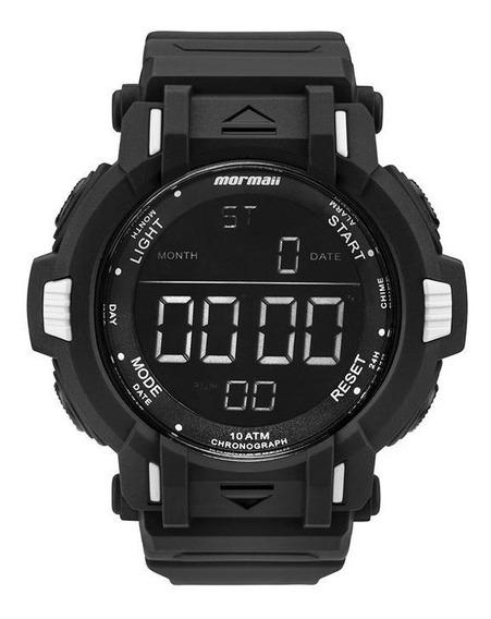 Relógio Mormaii Masculino Ref: Mom08111/8p Big Case Digital