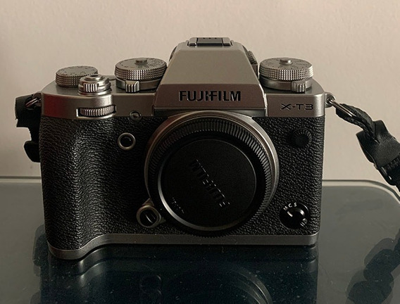 Camera Fujifilm Xt-3 Mirrorless - Comprada Na Fuji Brasil