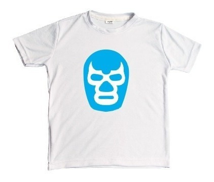 Playera Blue Demon Lucha Libre Corte Unisex