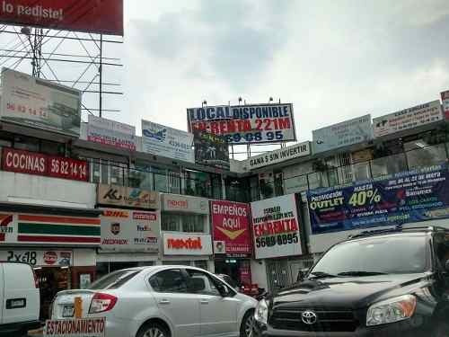 Renta Local Comercial Plaza Manzana Division Del Norte