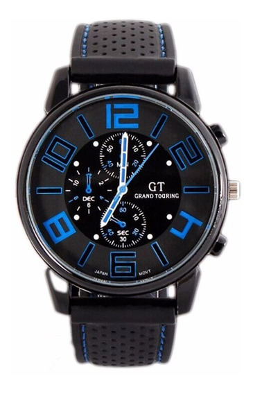 Relógio Masculino Importado Estiloso Modelo Silicone Barato