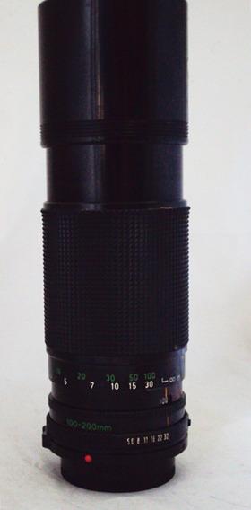 Lente Zoom Canon 100-200mm Fd
