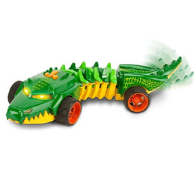 Carrinho Road Rippers Hot Wheels Mutant Machine Croc Dtc