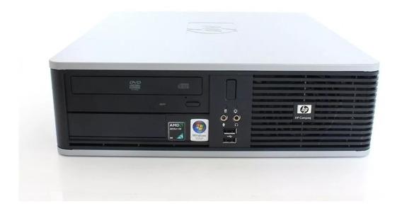 Cpu Computador Hp Amd Athlon Dual Core 2 Gb Ram Hd 160