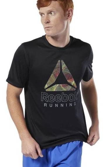 Reebok Remera Ess Graphic Negro