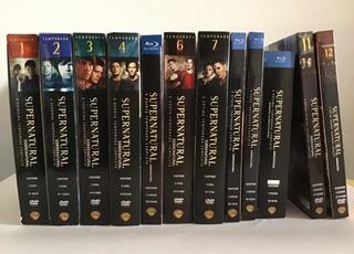 Supernatural As 12 Temporadas Completas Originais