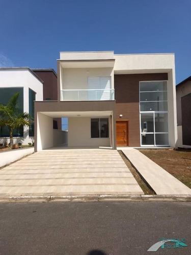 Sobrado Novo Em Condomínio Fechado - Bougainvilée Iv - Peruibe/sp - 14733