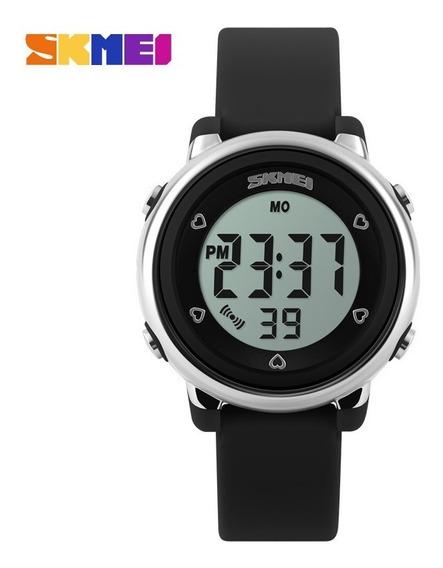 Relógio Infantil Menina Skmei 1100 Digital Roxo Prova D