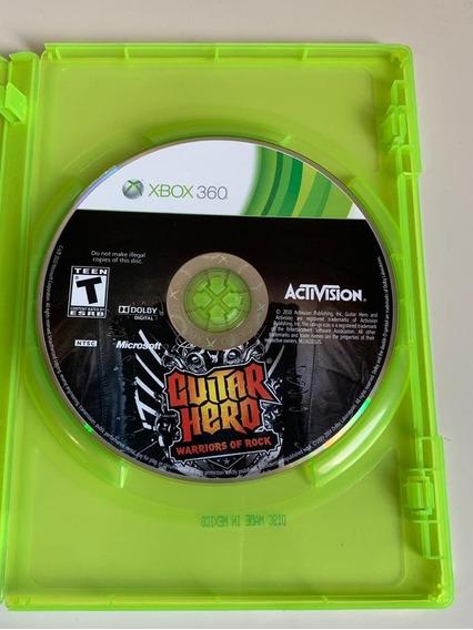 Jogo Guitar Hero Warriors Of Rock Xbox 360 Mídia Física
