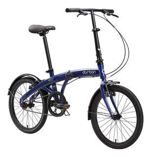 Bicicleta Dobrável Durban Aro 20 E Com Quadro De Aço Eco Az