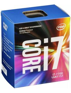 Procesador Intel Core I7 7700 Socket 1151 Box La Plata