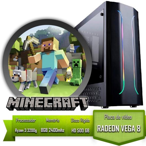 Pc Gamer Para Jogar Minecraft