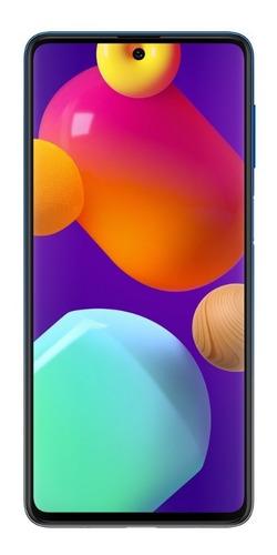 Imagem 1 de 7 de Smartphone Galaxy M62 128gb 8gb Ram Azul Samsung