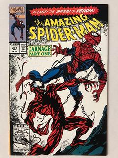 Amazing Spiderman #361 Marvel Comics 1992 1st App Carnage !!