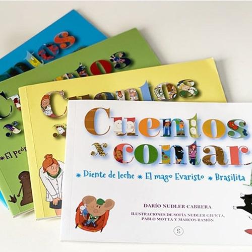 Colección De Libros Infantiles Cuentos X Contar