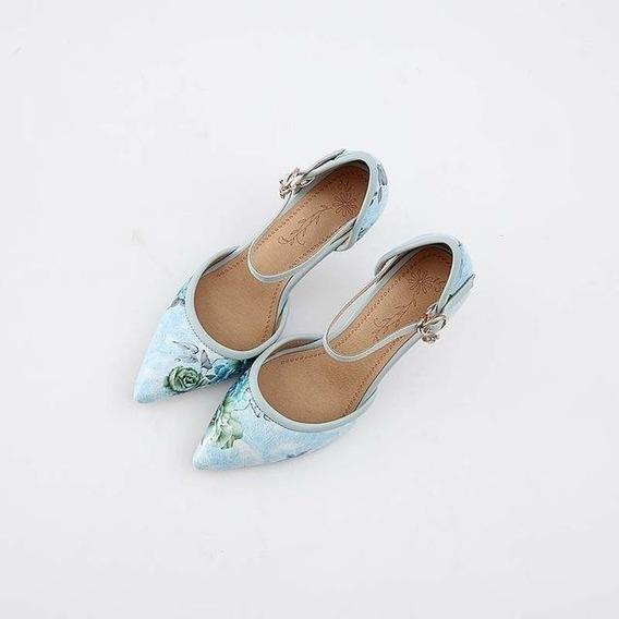 Sapato Feminino J&k 12200 Importado Frete Grátis