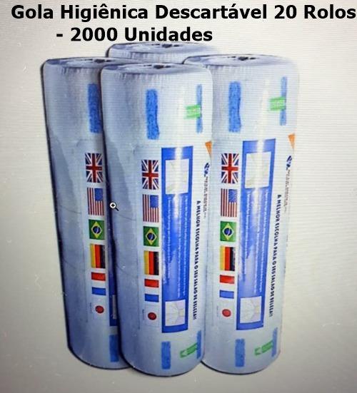 Gola Higiênica Hig. 20 Rolos - 2000 Un (queima De Estoque)