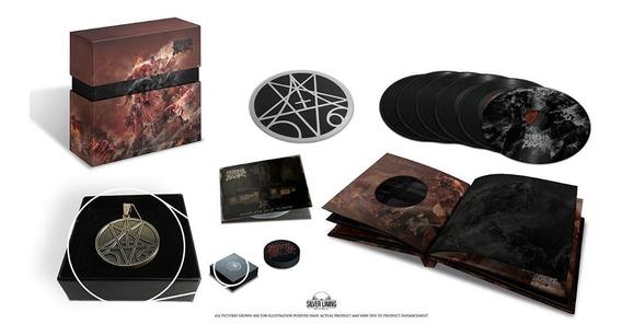 Morbid Angel Kingdoms Disdained Box Set Pronta Entrega