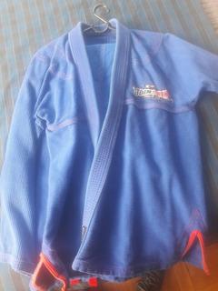 Kimono Jiu Jitsu Stormstrong A2, Azul Leve