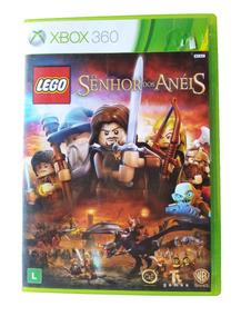 Jogo Lego O Senhor Dos Anéis Xbox 360 Original Para Crianças