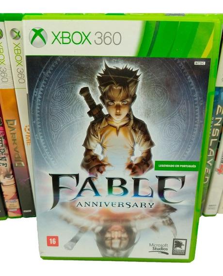 Fable Anniversary Jogos Xbox 360 Midia Fisica Original X360