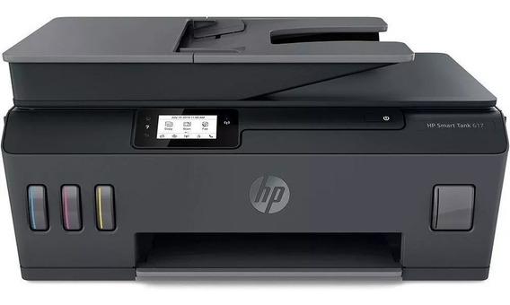 Impressora Multifuncional Hp Smart Tank 617 Jato De Tinta
