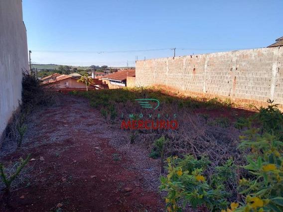 Terreno À Venda, 220 M² Por R$ 115.000 - Jardim João Paccola - Lençóis Paulista/sp - Te1259