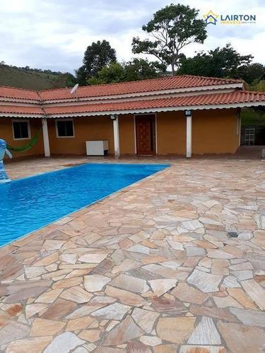 Chácara De 2960 M² À Venda No Vitória Regia - Atibaia Sp - Ch1303