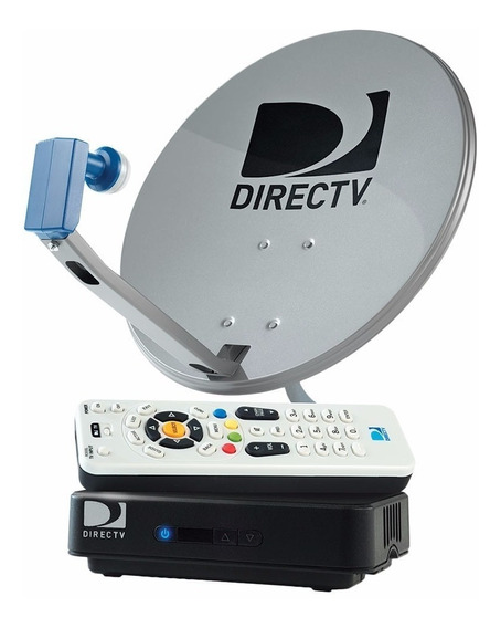 Kit Decodificador Directv, Antena Control Prepago Hd