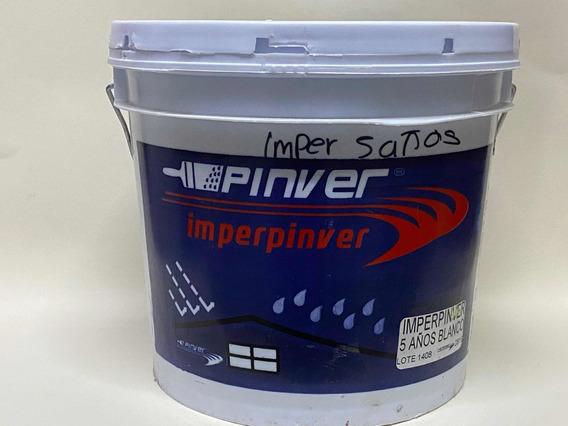 Impermeabilizante 5 Años Blanco Pinver Galón = 3.78 Lts