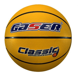 Balón Basketball Classic Hule No. 7 Gaser
