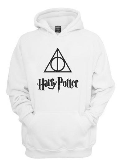 Moletom Agasalho Harry Potter Reliquia Blusa De Frio Casaco