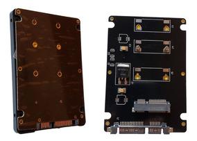 Case Adaptador Msata Mini Pci-e Ssd Para Sata 2.5 Note Ou Pc