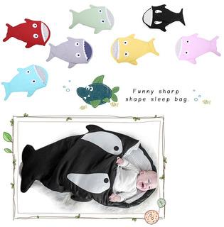 Sleeping Bolsa De Dormir Tiburón Shark Cobija Bebe