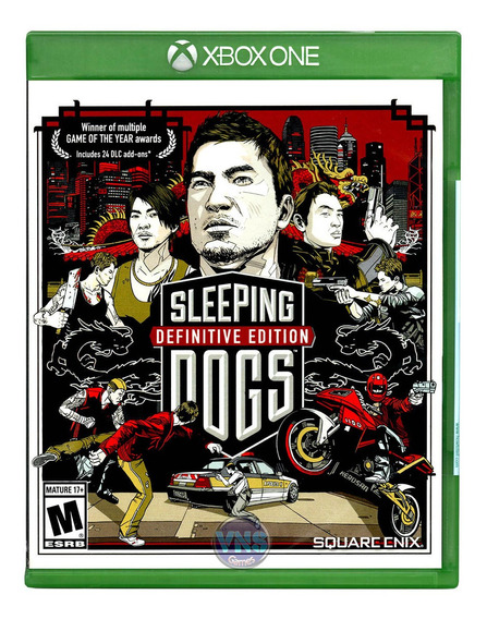 Sleeping Dogs Definitive Ed - Xbox One Mídia Física Lacrado