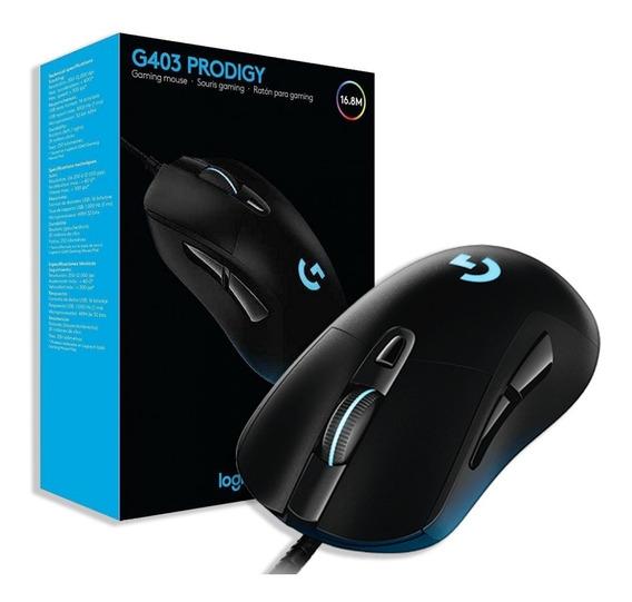 Mouse Gamer Logitech Gaming Prodigy G403 12000dpi