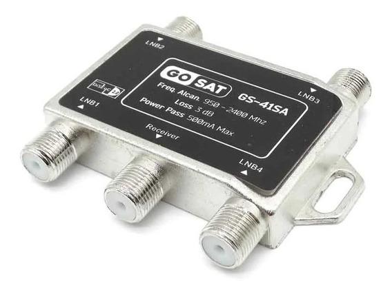 Chave Diseqc 4x1 Para Receptor Hd + Garantia + Melhor Preço!