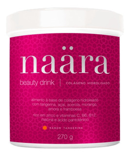 Naara Colágeno Hidrolizado Sabor Tangerina Beauty Drink