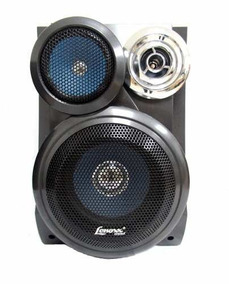 Caixa De Som Lenoxx Sound Para Micro System 80w Azul