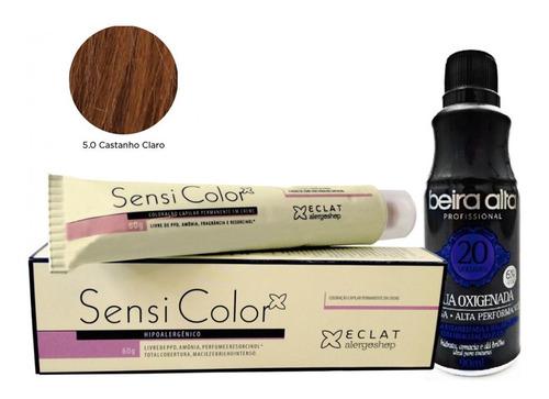 Tintura Sensi Color Antialergica Hipoalergenica + Oxigenada