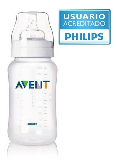 Mamadera 330ml 0% Bpa Anticolico Avent Philips Babymovil