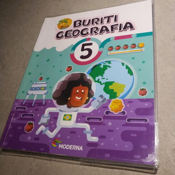 Livro Buriti Geografia 5 Ano 4ª Ed. Moderna 2017 Frete R$15