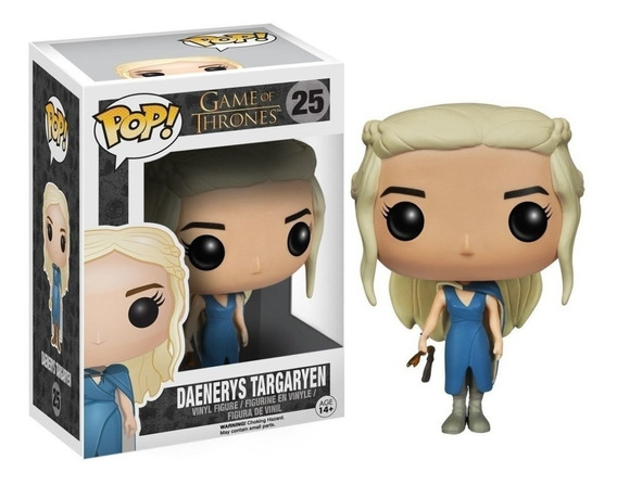 Figura Funko Pop Games Of Thrones - Daenerys C/ Vestido 25