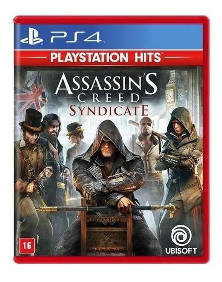 Jogo Assassins Creed Syndicate Ps4 Novo Lacrado